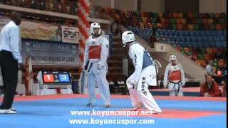 Servet TAZEGUL (TUR) vs (GER) (4th Europen Taekwondo Championships For Team)