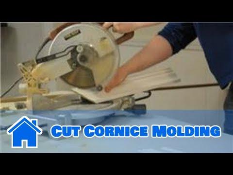 Kitchen Cabinet Cornice Cutting