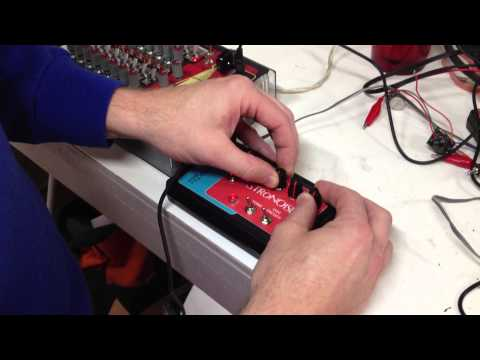 Synthrotek AstroNoise Atari Junk Console build with 16 Step Analog Sequencer Oscillator DEMO
