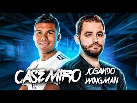 FalleN e CASEMIRO no WINGMAN !!!