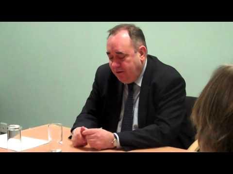 Alex Salmond urges people to vote in Aberdeen Gardens referendum
