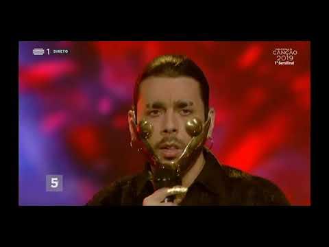 Conan Osiris - Telemóveis   Festival da canção 2019