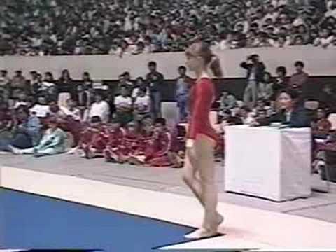 Oksana Omelianchik - 1986 World Sports Fair - FX