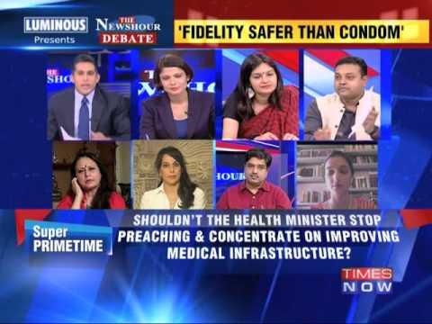 The Newshour Debate: NDA's morality minister Harsh Vardhan - Full Debate (27th June 2014)