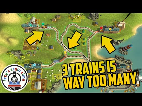 Train Valley: 3 TRAINS IS WAY TOO MUCH |