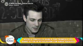 Nicola Porcella no le pidió matrimonio a Angie Arizaga