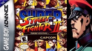 Super Street Fighter II - Turbo Revival - Bison (GBA)