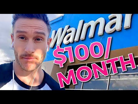 Extreme Budget $100/Month Clean Keto WALMART Grocery Haul