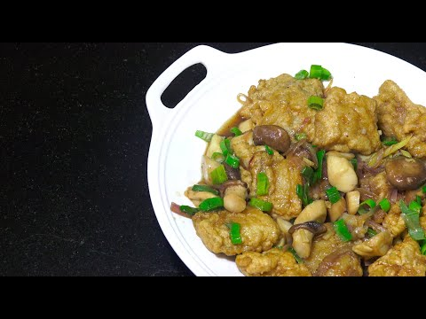 Chinese Fish & Mushroom - Oyster Mushrooms - Chinese Fish Recipe - Youtube
