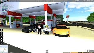 Lamborghini centenario test drive! [Roblox Ultimate Driving]