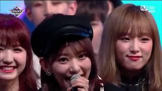 Itzy vs Izone first win mnet