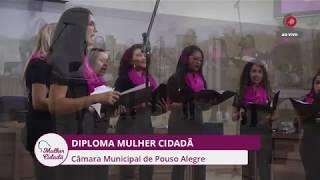 Diploma Mulher Cidadã 08.03.18