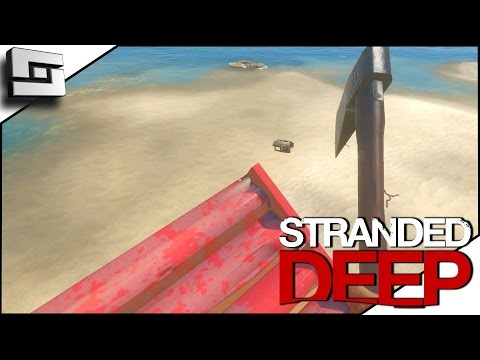 Stranded  Deep Gameplay - FLYING CARPET GLITCH! S2E7