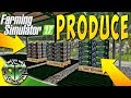 Snettertons Farm: Produce from the Greenhouse! : Farming Simulator 17 (PC)