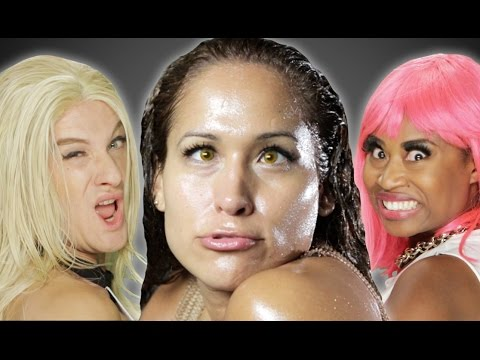 "Jennifer Lopez ft. Iggy Azalea - ""Booty"" PARODY"