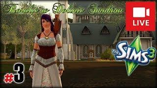 """[Archiwum] Live - Rosalie w Dolinie Smoków (The Sims 3) (2) - [1/2] - """"Niespodziewana śmierć"""""""