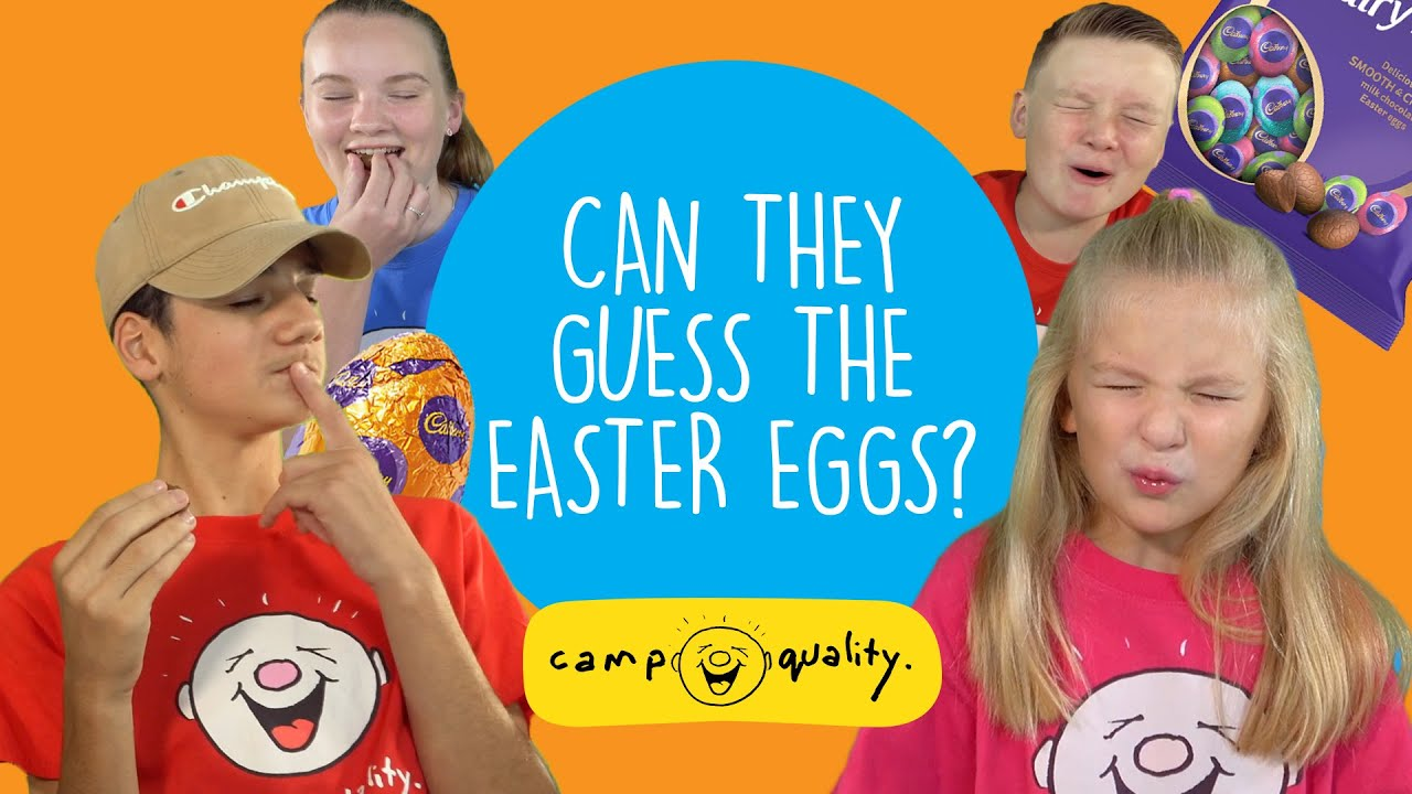 Can These Kids Guess The Easter Eggs?