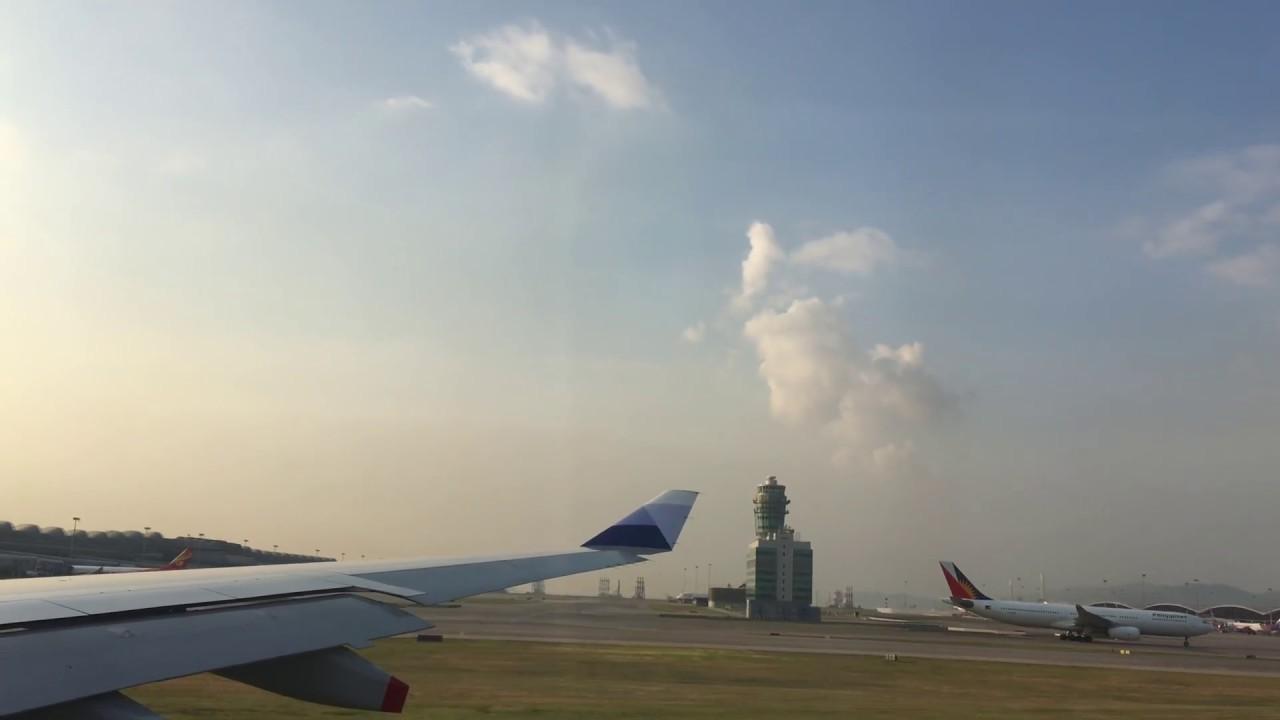 20170920 CI948 香港 高雄 香港起飛 - YouTube