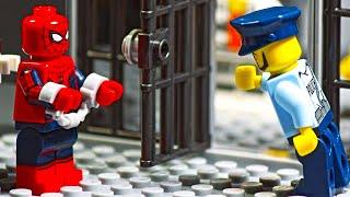 Lego Spiderman Prison Break - Home Robbery