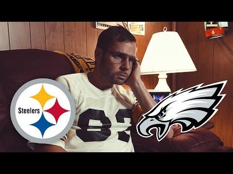 Dad Watches Steelers vs Eagles (Week 3)