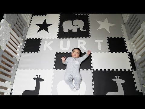Baby's Spacious Playpen | From Amazon & SoftTiles