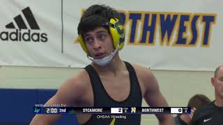 Sycamore & Ross at Northwest High School Wrestling - December 7, 2018