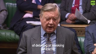 Ken Clarke urges Theresa May to delay or revoke Article 50 if she loses #BrexitVote