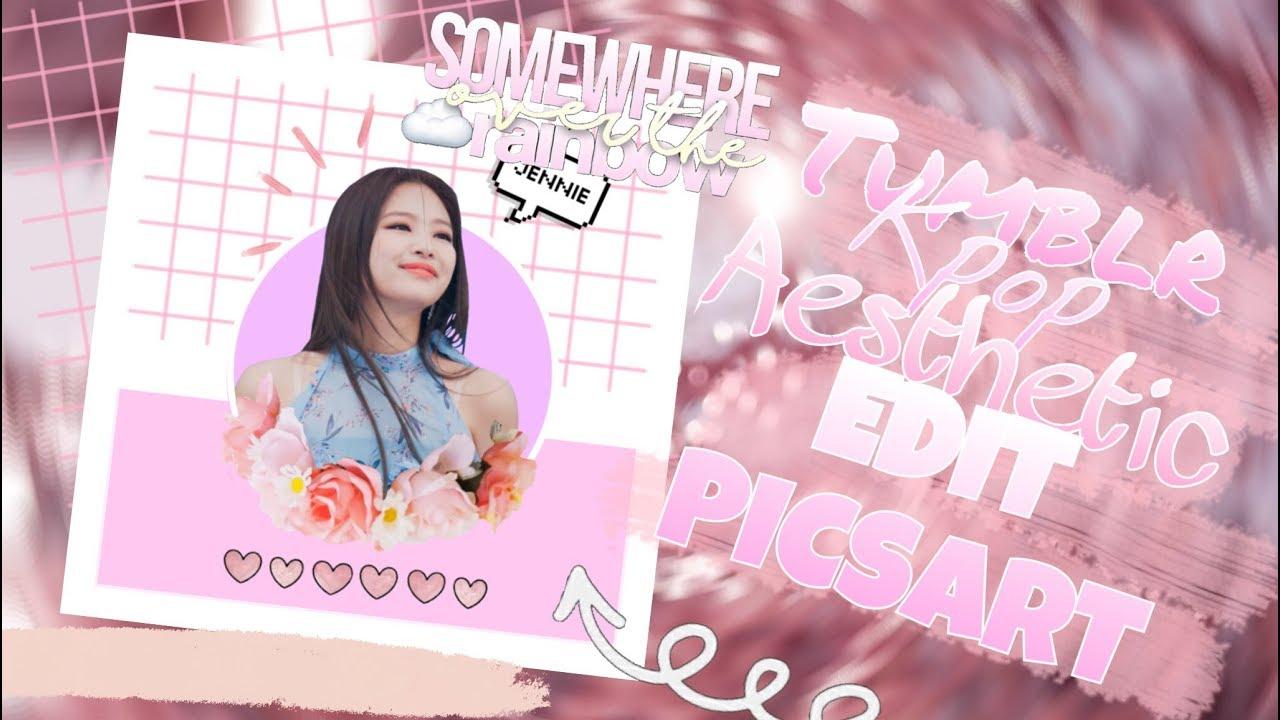 Aesthetic Tumblr Kpop Edit Picsart Edit Kim Jennie