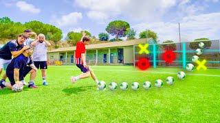 VUELVE LA ÉLITE ¡TODOS vs TODOS! Reto Fútbol *TIC TAC TOE CHALLENGE*
