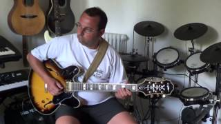 Guitare jazz par Fab Zeman
