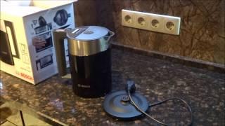 Обзор чайника Bosch TWK 86103