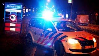 politie met spoed naar groot verkeersongeluk A2 Amsterdam spoedrit