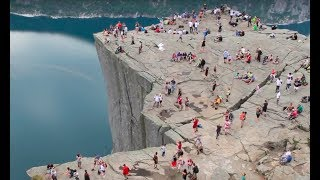 Hike to Preikestolen (Pulpit Rock) in Norway