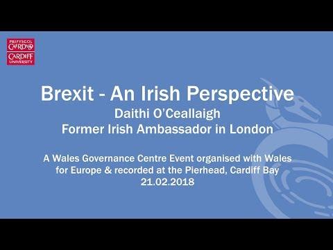 Brexit from an Irish perspective - Dáithí O'Ceallaigh