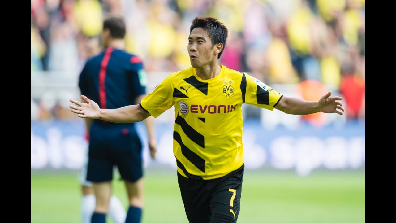 Shinji Kagawa Amazing Goal Borussia Dortmund 3 0 Paderborn 1
