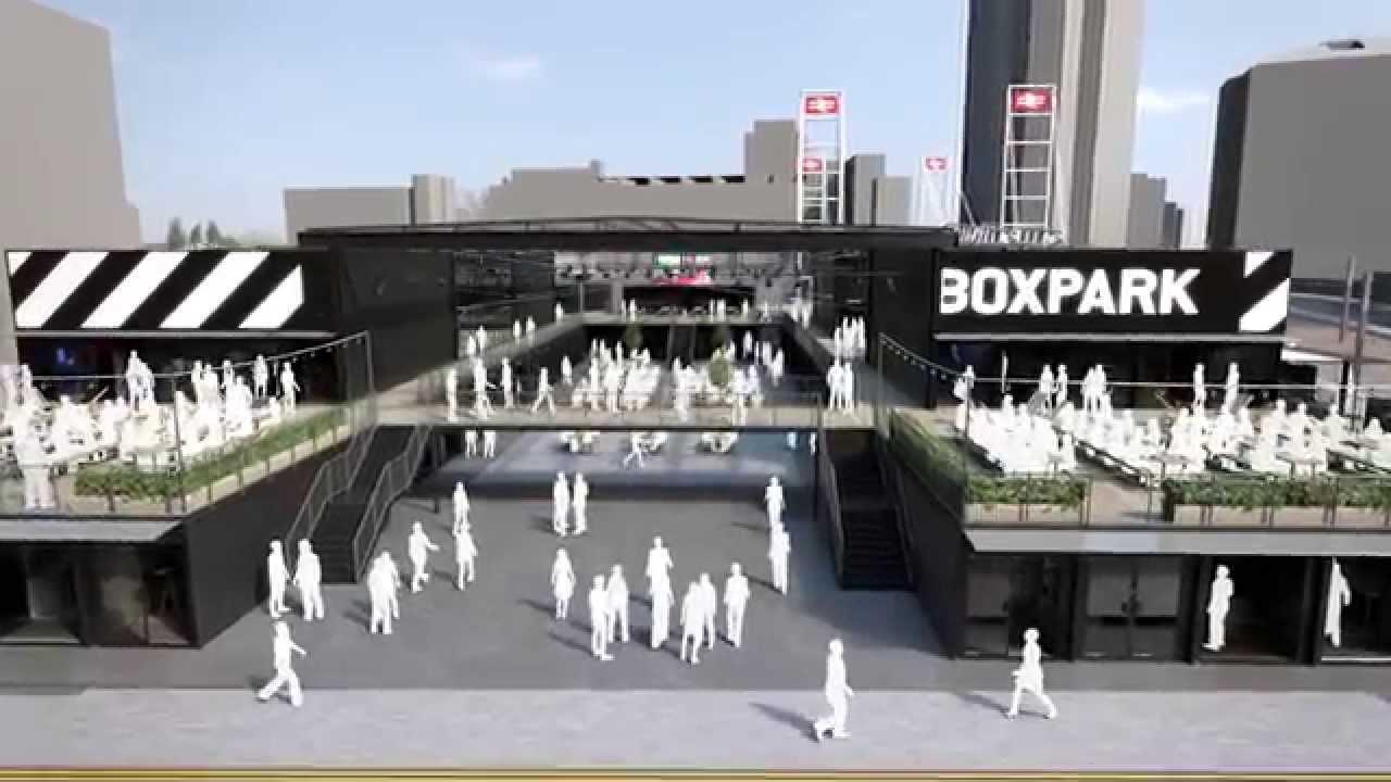 Boxpark Croydon Youtube