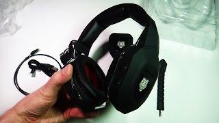 Игровые беспроводные наушники с микрофоном HC S2039(Заказывал здесь: http://bit.ly/1VB7iFk ➤ Скидки до 20% при заказах в Интернет магазинах: https://goo.gl/z5puK9 Получил китайски..., 2016-03-05T15:55:59.000Z)