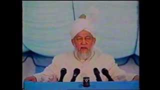 Address to Ladies, Jalsa Salana 27 July 1996