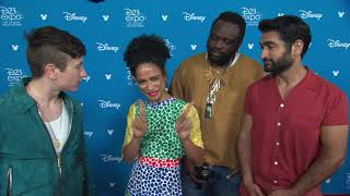 Eternals: Barry Keoghan, Lauren Ridloff,  Kumail Nanjiani, Brian Tyree Henry Interview