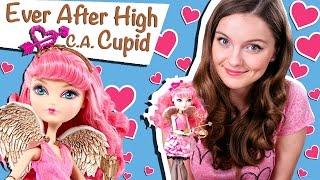 C. A. Cupid (Купідон Довго і Щасливо) Ever After High Огляд і Розпакування /Review, BDB09