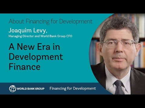 World Bank Group CFO on a new era in development finance