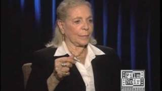 lauren bacall talks about insecurity