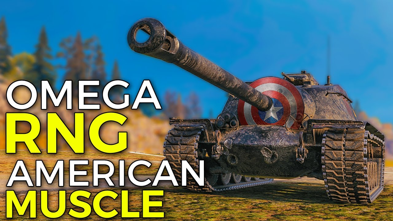 German Accuracy, RNG and American Muscle | World of Tanks T110E3 Gameplay