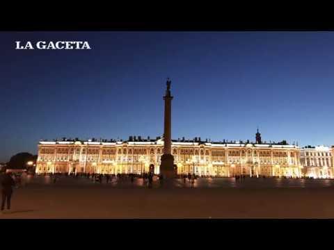 Revolución Rusa: El palacio de Invierno, 100 años después