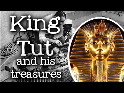 King Tut and His Treasures for Kids: Biography of Tutankhamun, Discovery of his Tomb  FreeSchool