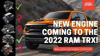 2022 Ram TRX info LEAKED!!! Losing Hellcat engine? New colors coming!