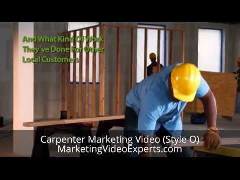 Carpenter Marketing Video (Style O) from Marketing Video Experts