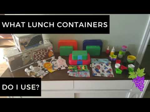 What Lunch Containers Do I Use?