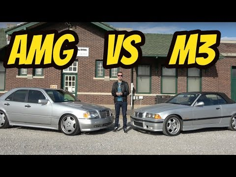 mercedes-c36-amg-vs.-bmw-m3:-the-first-battle