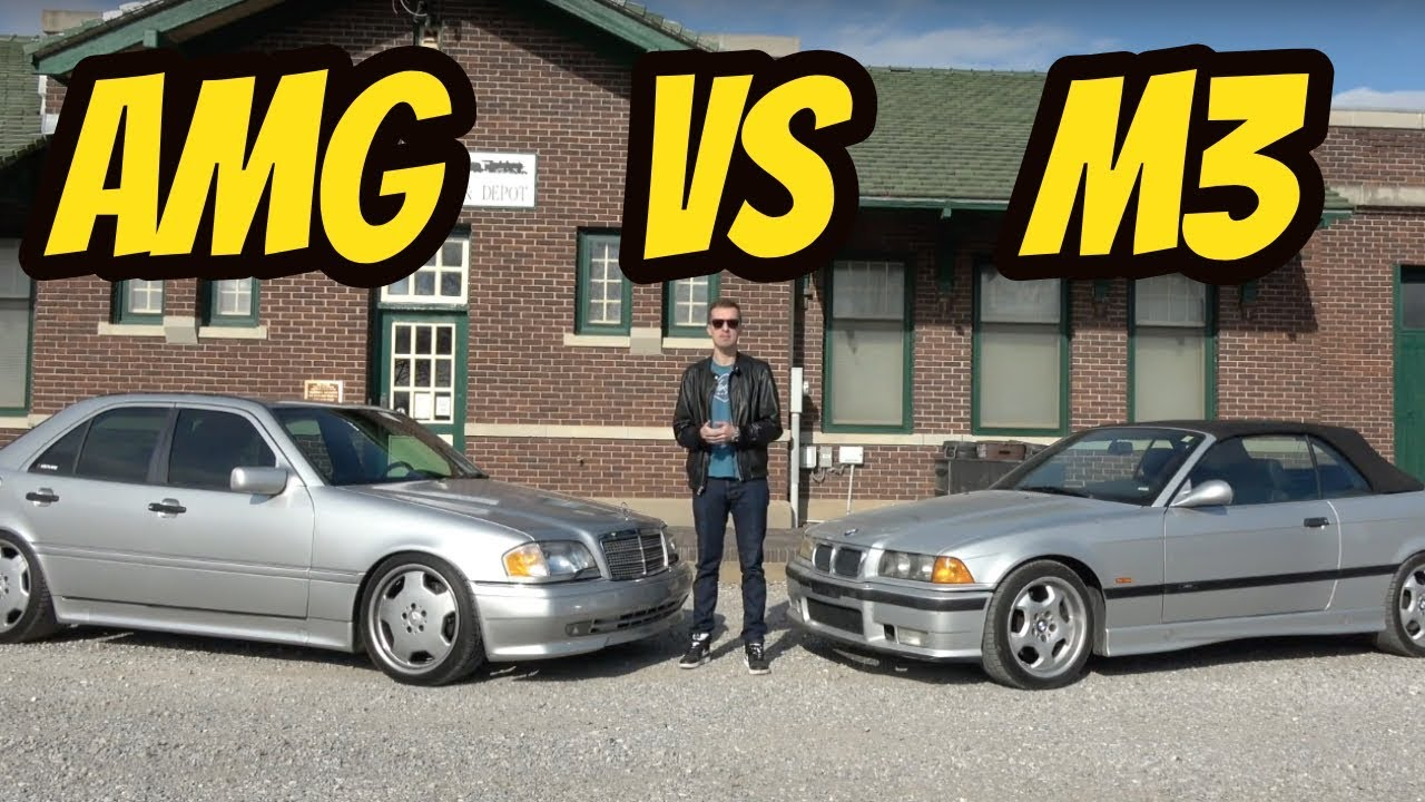 Mercedes C36 AMG vs. BMW M3: The First Battle on